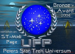 Peters Star Trek Universum Bronze-Award 2004
